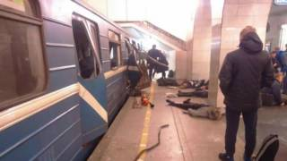 Explosion on the metro in St Petersburg