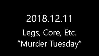 Resistance band Men's Health Spartacus routine (2018.12.11)