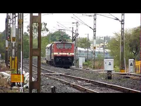 WAP-4 Punjab Mail attacks!! Travel Video