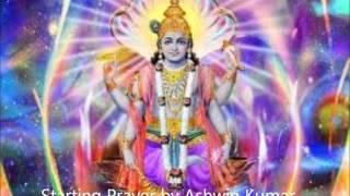 Shuklam Baradharam Vishnum By Ashwin Kumnar (Starting Prayer)