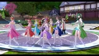 The Tower Of AION 【AIONキュアキュア】 dance