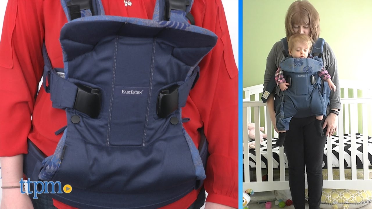 b29334a0b69 Baby Carrier One from BabyBjorn - YouTube