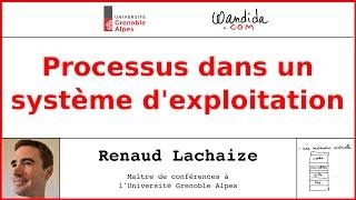 Processus dans un système d'exploitation | Renaud Lachaize