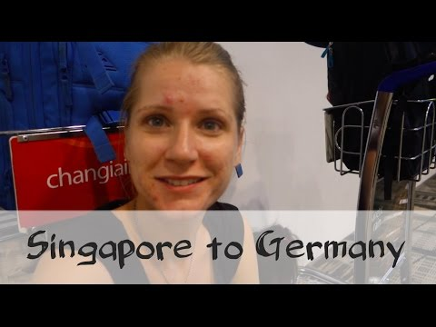 Singapore to Germany with Qatar Airways via Doha