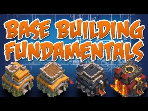 CLASH OF CLANS  ::  BASE BUILDING FUNDAMENTALS  ::  BASE DESIGN