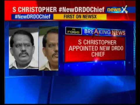 S Christopher appointed new DRDO chief