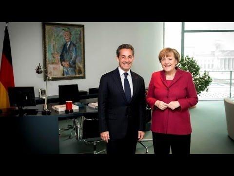 Allemagne: Nicolas Sarkozy en visite privée auprès d'Angela Merkel - 28/02