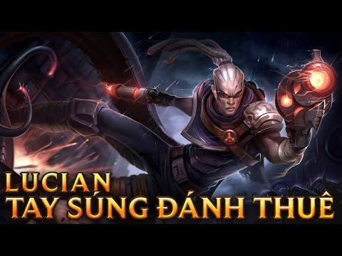 Lucian Tay Súng Đánh Thuê - Hired Gun Lucian - Skins lol
