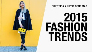2015 Fashion Trends: Marsala, Sneakers, Sporty Chic, Floral Print | Hippie Gone Mad x Chictopia