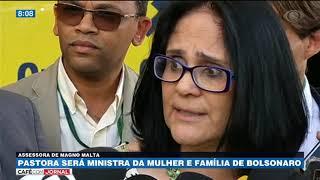 Damares Alves será ministra da Mulher e Família
