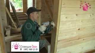 Особенности подготовки проемов в доме из бруса перед монтажом окон/дверей(, 2013-06-13T22:14:06.000Z)