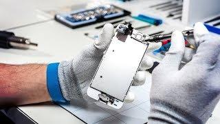 видео Ремонт телефонов iPhone