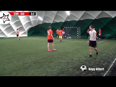 """Corall Zt - Sicla 4:2 """"Fogadó Sport Pub Live Soccer League""""-3.forduló - Szerda"""