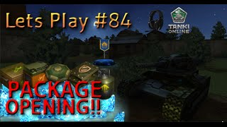 Lets Play #84 - Tankionline | PACKAGE OPENING DRUG KIT!!