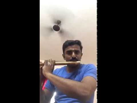 Malare ninne kanathirunnal, premam nice flute playing by Rajeesh