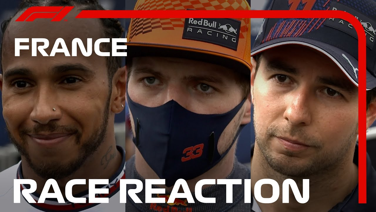Drivers' Post-Race Reaction | 2021 French Grand Prix