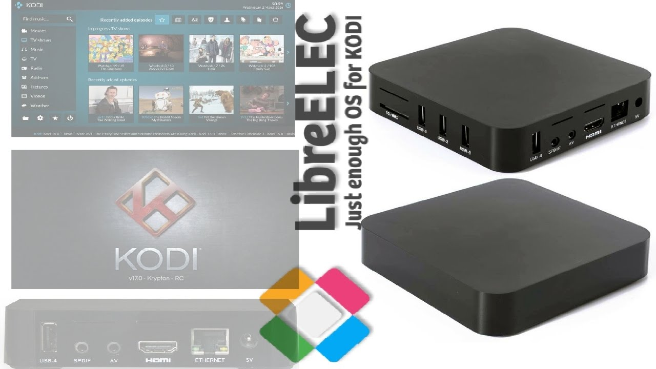 STABLE KODI 17.1 ON THE MXQ S805 TV BOX - FIRST STABLE LIBRE ELEC ...