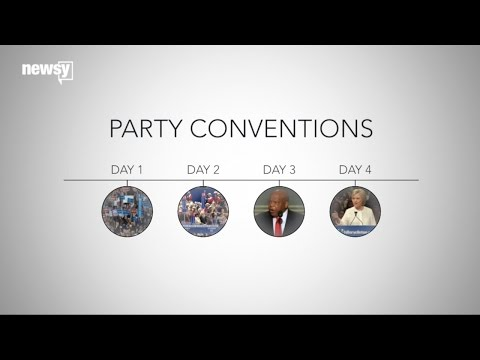 What Happens At The Republican And Democratic Conventions, Day By Day