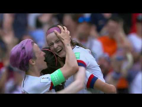14 different Camera Angles of Rose Lavelle  goal in the 2019 Womans world cup Final!