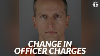Judge dismisses 1 charge against former cop in George Floyd's death