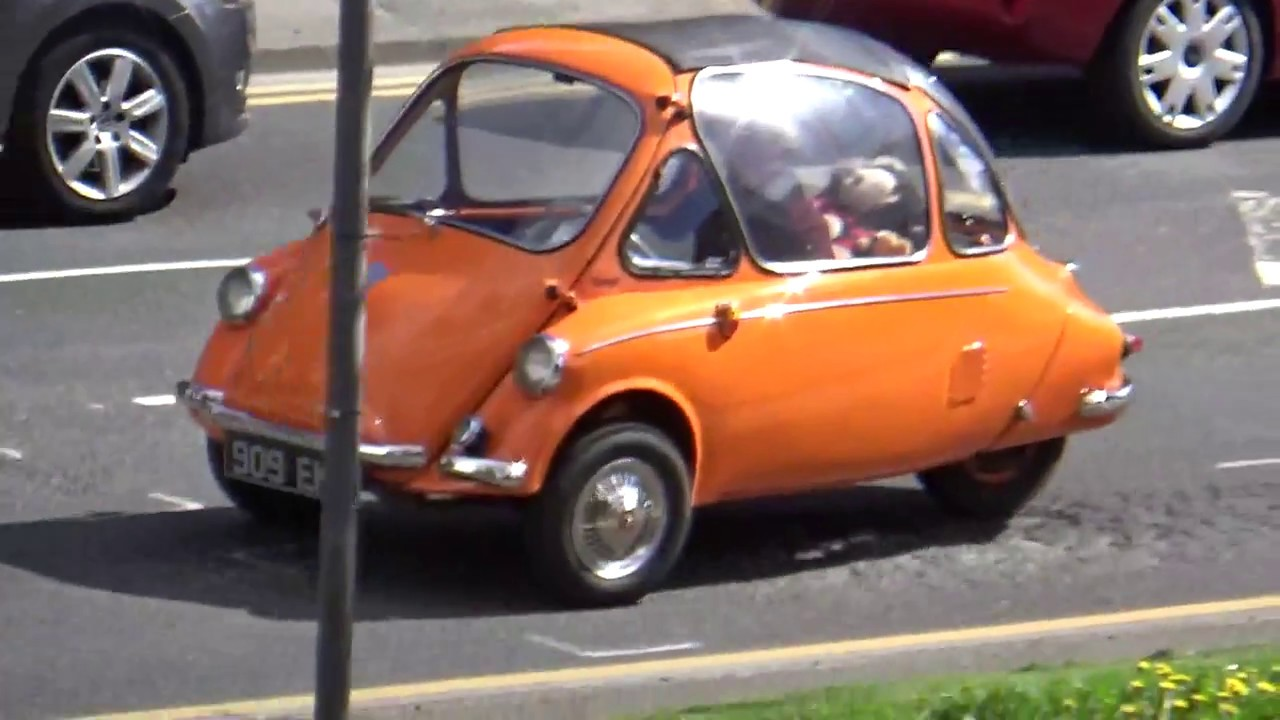 Heinkel Bubble Car Youtube