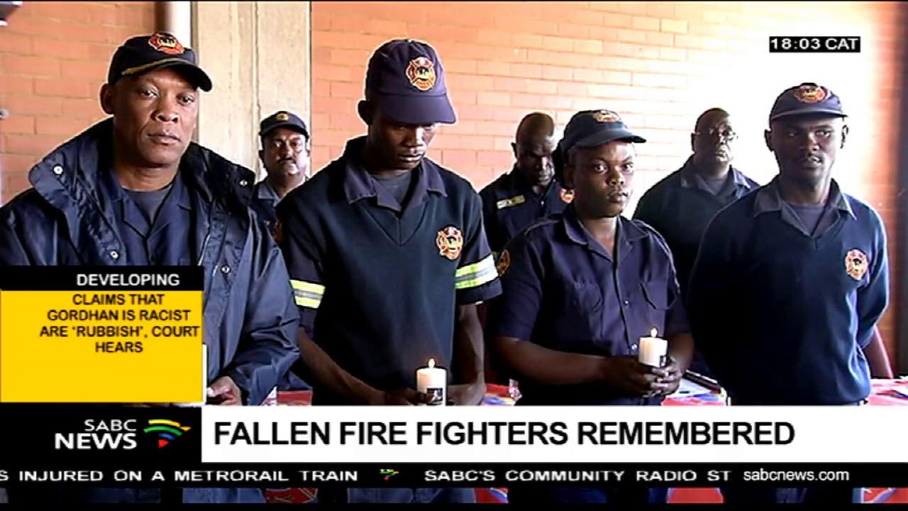 Fallen firefighters honoured