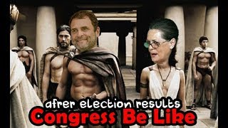 Congress Be Like | Election 2018 Result | Gujarati Comedy Video | Marvel Gujarati