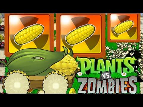 DEFCORN 5 Achievement | 5 Cob Cannons in a SINGLE lvl | Plants vs Zombies