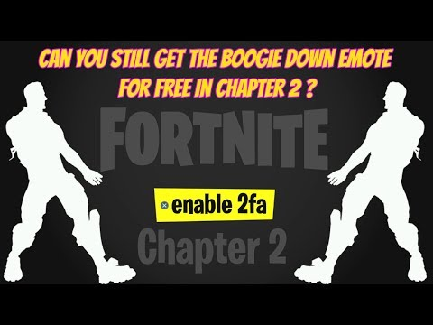 Enable 2fa Fortnite Chapter 2