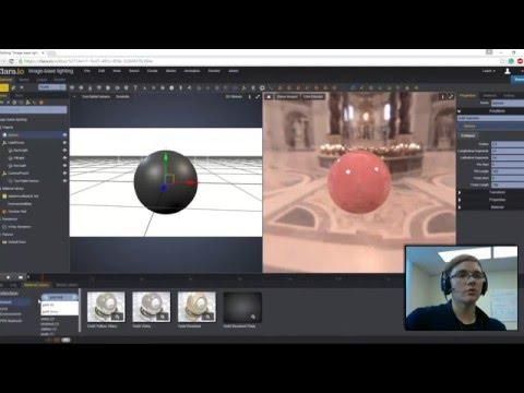 Using Clara.io: Image-based Lighting Tutorial for V-Ray Rendering
