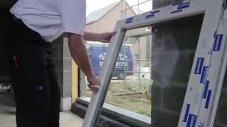Hoe moet je een raam plaatsen?