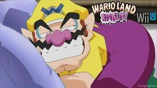 Wario Land Shake It ! - Wii U Virtual Console Gameplay [ HD ] eshop EU