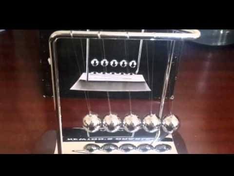 Demo: ActionFly Newtons Cradle Physics Pendulum