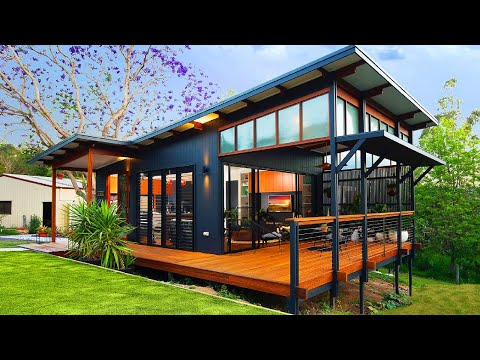 World's Most Beautiful Samford Valley Small House In Australia