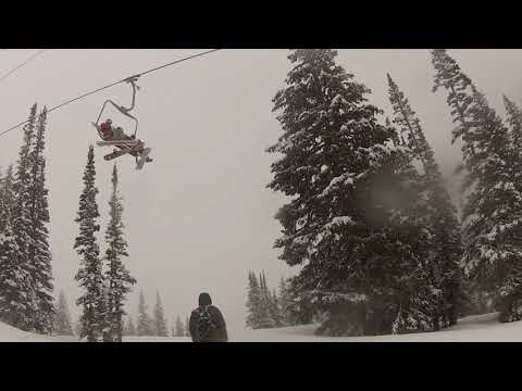 Snowbird, Utah: A May 17th powder day in Peruvian Gulch