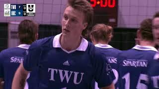 USports Men's Volleyball Championship 2018 - Game 11 - UBC vs Trinity Western