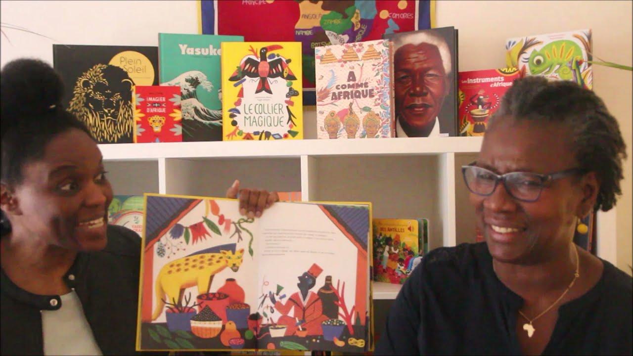 Rencontre autour de la Littérature jeunesse Africaine – Le Collier Magique / A Comme Afrique