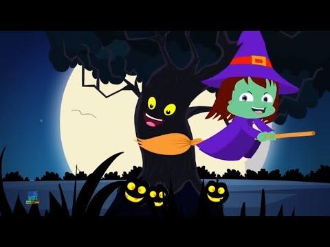 Desenhos Animados Do Dia Das Bruxas Halloween Tree Halloween Cartoons Kids Rhymes Youtube