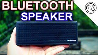 Blaupunkt BT-51 Bluetooth Speaker Unboxing & Sound Test......