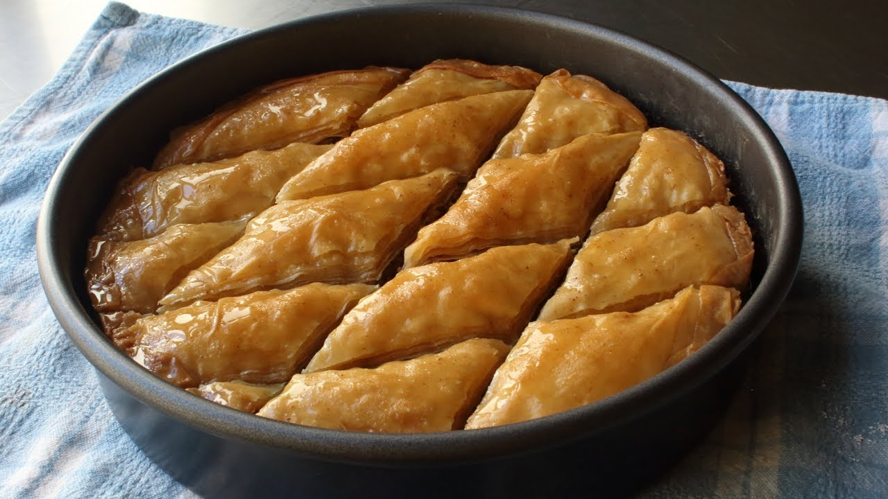 Baklava Recipe How To Make Baklava From Scratch Youtube