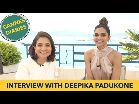 Deepika Padukone Interview with Anupama Chopra | Cannes Film Festival 2017