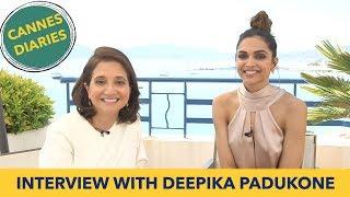 Deepika Padukone Interview with Anupama Chopra | Cannes Film Festival 2017