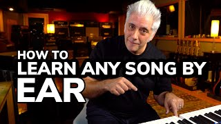 My Method to Learning ANY Song By Ear