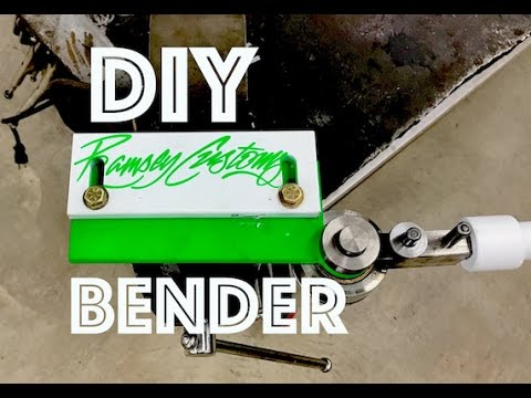 Homemade DIY Metal Bender - Oxtoolco Design - Steel - Aluminum - Stainless - Similar to Swag Offroad