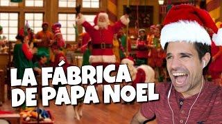 VISITAMOS LA FÁBRICA DE PAPÁ NOEL | ROBLOX español Christmas Santa Claus Tycoon