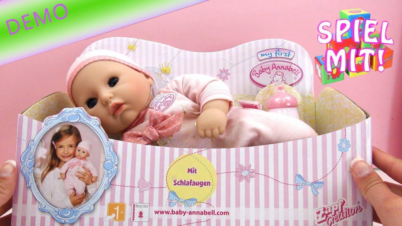 baby annabell deutsch - My little Baby Annabell Funktions ...