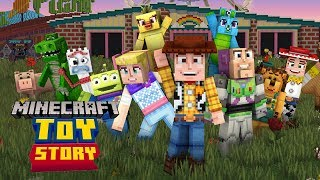 Minecraft Toy Story Mash-Up Pack Gameplay Review