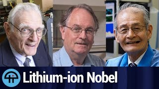 Lithium-ion inventors win Nobel Prize