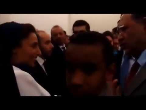 Sous le haut patronage de Son Altesse Sheikha Bodour Bint Sultan Al Qasimi rencontre William Ombagho