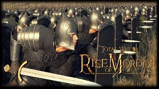 THE MIGHT OF GONDOR! Rise of Mordor Mod Gameplay